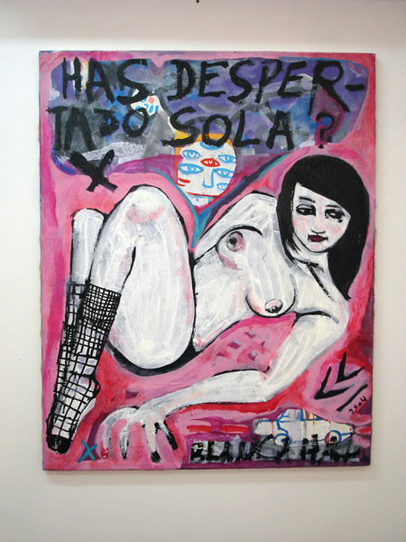 Has despertado sola | Mixta sobre Tela | 2004