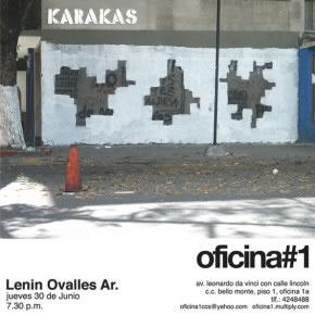 Karakas | Instalación I Cartón, stencil y pintura industrial sobre pared | 2005