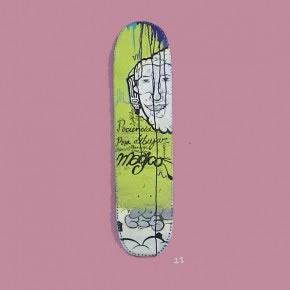 CEPT | Mixta sobre skateboard | 2006