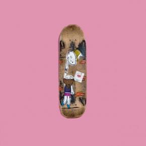 ELLA | Mixta sobre skateboard | 2006