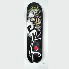 GABRIEL MESA | Mixta sobre skateboard | 2006