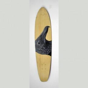 CHANCHO | Mixta sobre skateboard | 2006
