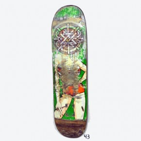 RATA SECA | Mixta sobre skateboard | 2006