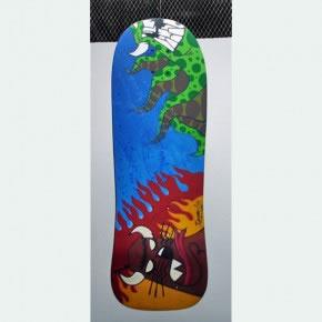 TOPO | Mixta sobre skateboard | 2006