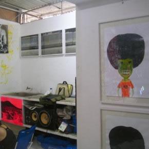 Vista de parcial sala | Angel Gonzalez Calmen | Yuri Liscano| Raimond Chaves