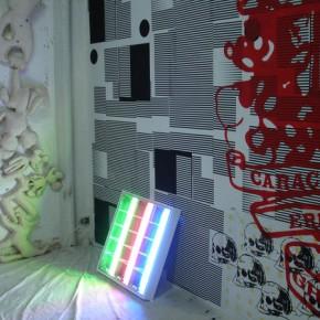 vista parcial de la expo | Macjob Paravabis | Suwon Lee | Ghetto Creativo | Jaime Gili | Luis Romero