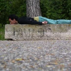 Ignacio Pérez | Mi primer viaje largo | 2007 | Registro fotográfico del Performance