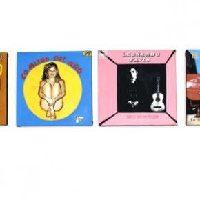 Gabriel López | caratulas de discos | 2007 | pintura sobre tela