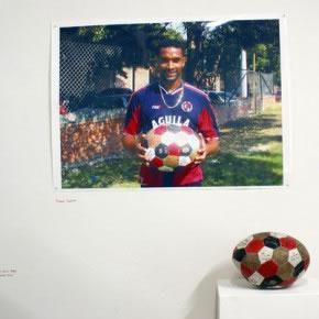 Gabriel Castillo | Cúcuta deportivo | 2007 | Fotografía, tapara, pintura y autográfos