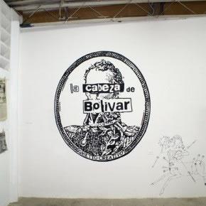 Ghetto creativo |La cabeza de Bolívar | Mural | 2007