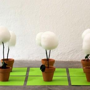 Angela Hernández | Mimosa púdica sensitiva | 2008 | Instalación | dimensiones variables