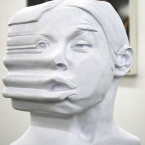 Glass on Body (Ana Mendieta) De la serie Girar el Cuerpo | 2011-2012 | Vaciado en Resina | 27cm alto x 20cm ancho x 17cm profundidad