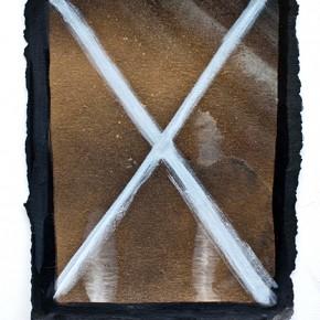Sin título | 2011 | Tinta china, aerosol, acrílico | 17 x 22 cm