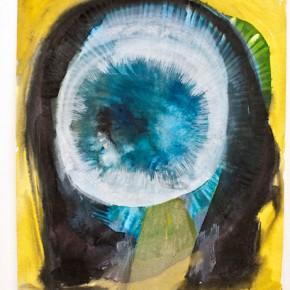Sin título | 2011 | Tinta china y acrílico sobre papel | 25 x 30 cm