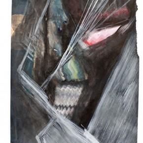 Sin título | 2011 | Tinta china y acrílico sobre papel de algodón | 21 x 29 cm