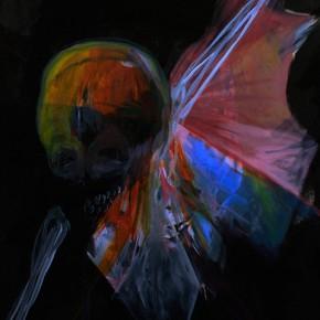 Ahriman | 2011 | Tinta china y acrílico sobre papel de algodón | 70 x 100 cm