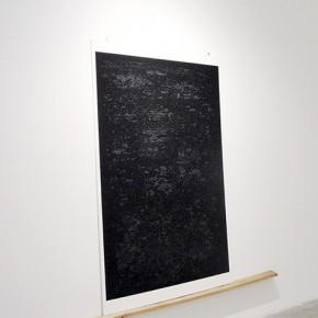 Transcripción digital del Libro de las Revelaciones | 2013 | Impresiòn digital sobre papel de algodón | 200 x 140 cm