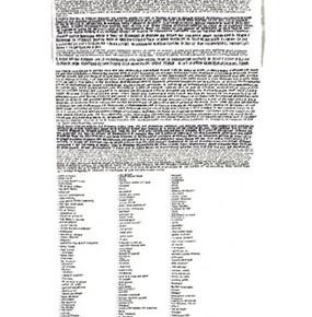 La nueva iglesia | 2008 | Acuarela y estilógrafo sobre papel de algodón | 250 x 28 cm