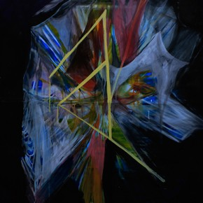 Pizarras/R. Steiner | 2011 | Tinta china y acrílico sobre papel de algodón | 140 x 100 cm