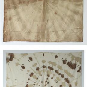 Tye die | 2010 | Lona y sangre animal | 200 x 200 cm