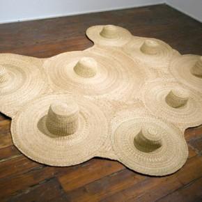 Desierto | 2011 | Tejido de mimbre | 305 x 245 x 19 cm