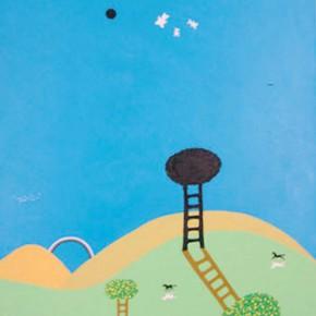 Sombras y nubes | Gabriel Castillo| 2009 | acrílico sobre tela