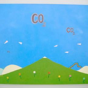 CO2 | Gabriel Castillo | 2009 | Acrílico sobre tela