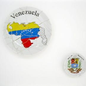 Recuerdo de Venezuela - Bandera y Escudo