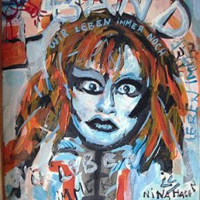 Nina Hagen | Mixta sobre Tela | 1999