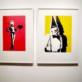 El Mago y El Payaso | 2009 | Serigrafía