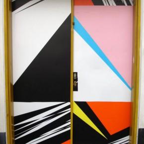 Sin Título| Impresión Adhesiva sobre puerta| 2006