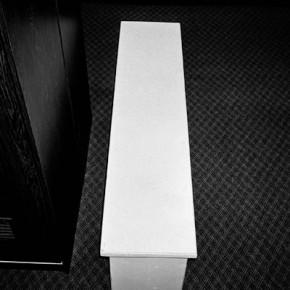 Situaciones elementales (banca sobre alfombra) | 2010-2011 | Inyección de tina sobre papel de algodón | 23cmx15cm | Edición de 3+P.A