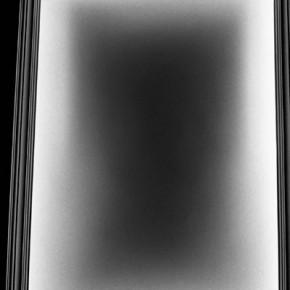 Situaciones elementales (Luz de techo) | 2010-2011 | Inyección de tina sobre papel de algodón | 23cmx15cm | Edición de 3+P.A