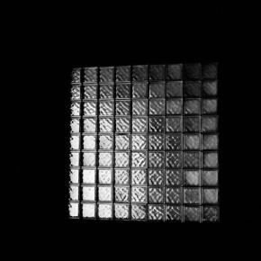 Situaciones elementales (cuadricula de vidrio) | 2010-2011 | Inyección de tina sobre papel de algodón | 23cmx15cm | Edición de 3+P.A