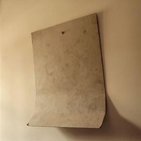 Cartón doblado | 2009 | Inyección de tina sobre papel de algodón | 90x90cm