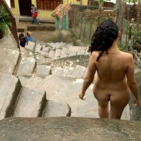 Serie escalera de caracol en Macarao