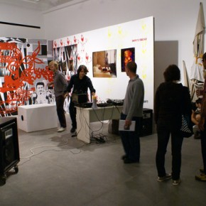 Vista de sala| Performance Sonoro de Sandro Pequeno
