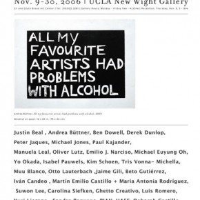 UCLA New Wight Gallery | Wight Biennal | 2006