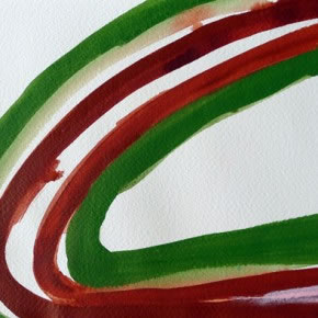 Dulce Gómez | Sin título | 2012 | Acrílico sobre papel | 25 x 29 cm