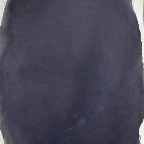 1. Sin título. Negro | 2012 | Tinta china negra sobre papel fabriano (220gr) | 48 x 32 cm