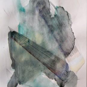 10. Verde | 2012 | Acuarela, creyones y grafito sobre papel torreón | 28 x 21, 5 cm