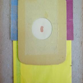 16. 1 | 2012 | Materiales diversos sobre cartón | 28,5 x 19,5 cm