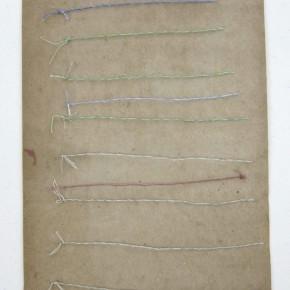 19. 4 | 2012 | Materiales diversos sobre cartón | 28,5 x 19,5 cm