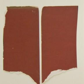 31. Dos. Rojo | 2012 | Papel sobre cartulina bristol | 28 x 21, 5 cm