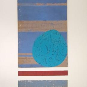 40. Manual | 2012 | Cartón y tela sobre papel fabriano (220 gr) | 48 x 32 cm