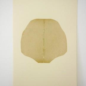 Vista de sala | 23. Corte 1 | 2012 | Collage sobre papel fabriano (220gr) | 48 x 32 cm