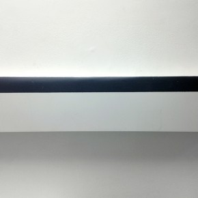 Eugenio Espinoza | Aluminado 3 | 2009 | Pintura sobre aluminio | 16,5 x 58 cm