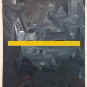Eugenio Espinoza | Muting 1 | 1988 | Mixta sobre tela | 60 x 50 cm