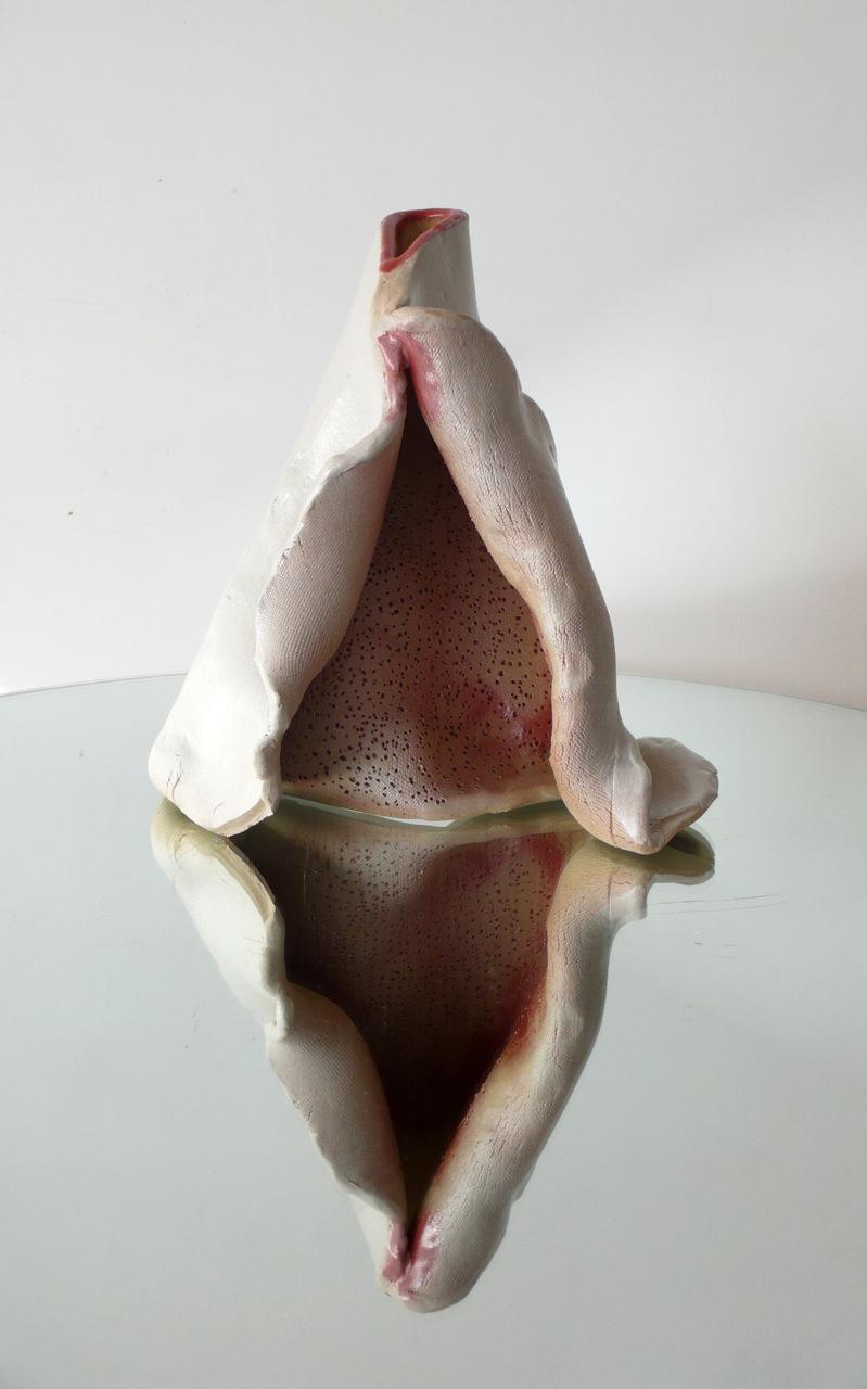 Serie Siliceous (2011) Gres y esmaltes | 30 x 20 x 13 cm
