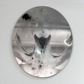 Orchos#6 (2011) | Fotografía impresa sobre acero inoxidable | 28 x 23.3 cm | Ed. de 5